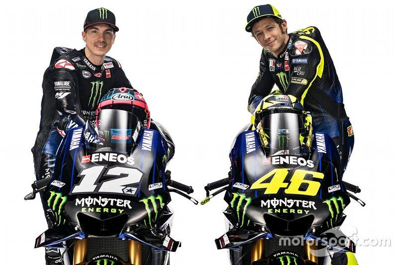 Valentino Rossi et Maverick Vinales
