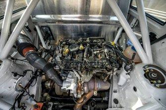 Volkswagen Polo RX detalle del motor