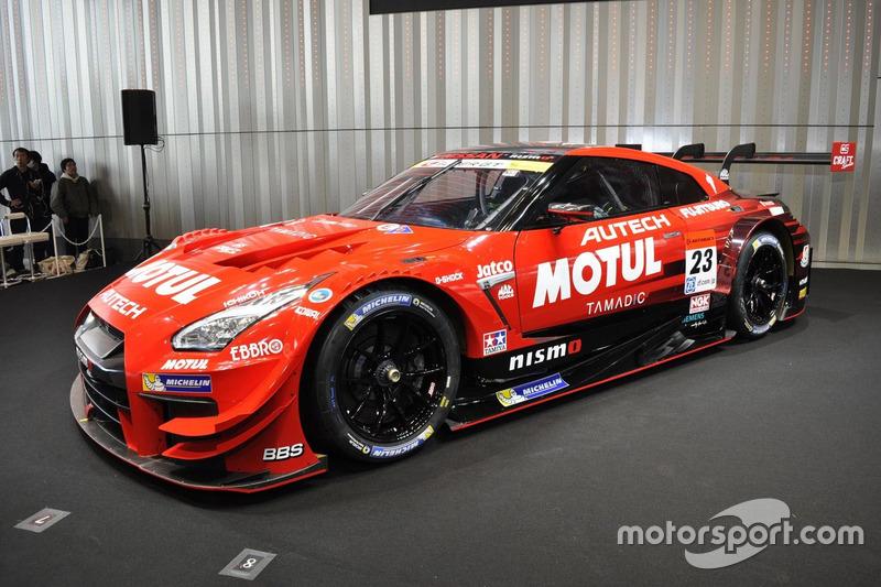 2017年型の#23 MOTUL AUTECH GT-R