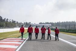 Trackwalk: Jamie Green, Audi Sport Team Rosberg, Audi RS 5 DTM