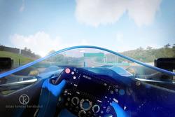 Designstudie: Formel-1-Auto mit Cockpitschutz Shield