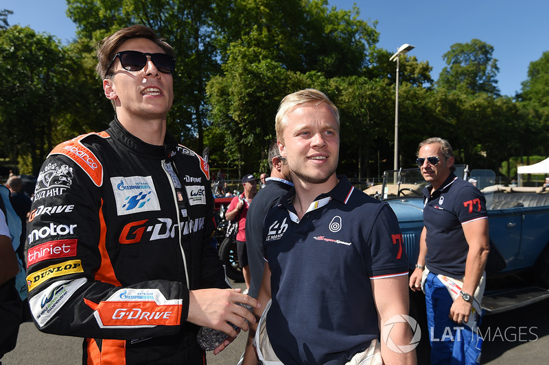 Alex Lynn, G-Drive Racing, Felix Rosenqvist, Dragonspeed