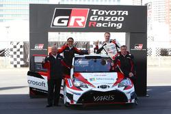 Yaris WRC, ヤリ-マティ・ラトバラ, トミ・マキネン, 豊田章男社長, TOYOTA GAZOO Ricing