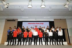 Honda国内モータースポーツ活動計画発表会:集合写真