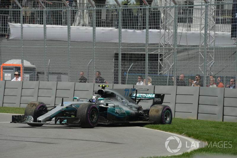 Валттери Боттас, Mercedes AMG F1 W08: разворот
