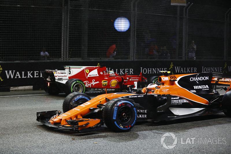 A 2017-es szingapúri káosz a rajtnál