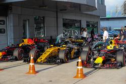 Valtteri Bottas, Mercedes AMG F1 dans le Parc Fermé