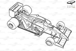 Ferrari F1-87 1987 overview