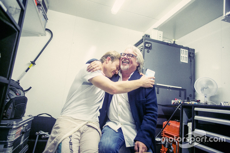 Nico Rosberg, Mercedes AMG F1, Formel-1-Weltmeister 2016, hinter den Kulissen