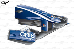 Williams FW31 2009 front wing and nose