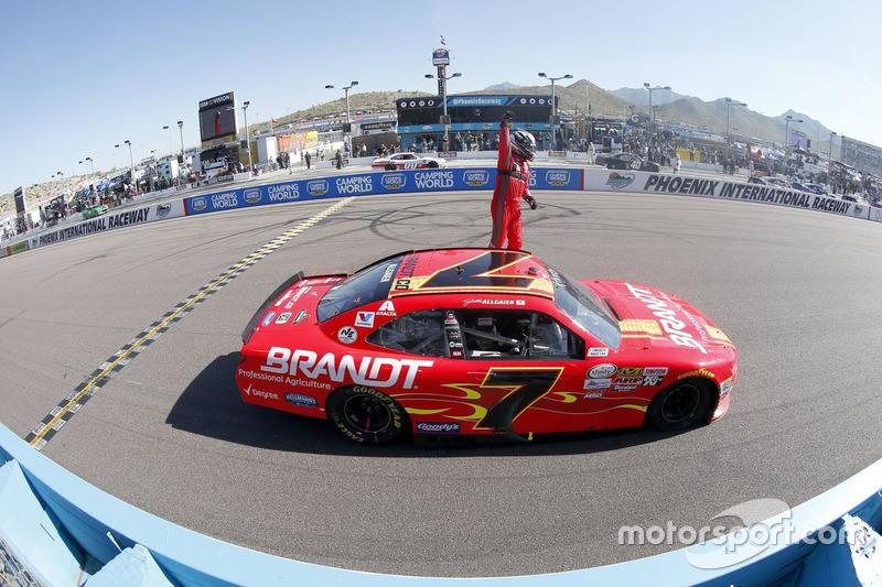 Ganador, Justin Allgaier, JR Motorsports Chevrolet