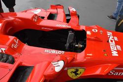 Cockpit de la Ferrari SF70H