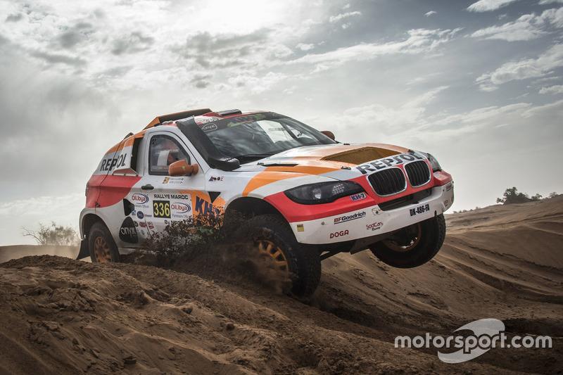#336 Repsol Rally Team: Isidre Esteve, Txema Villalobos