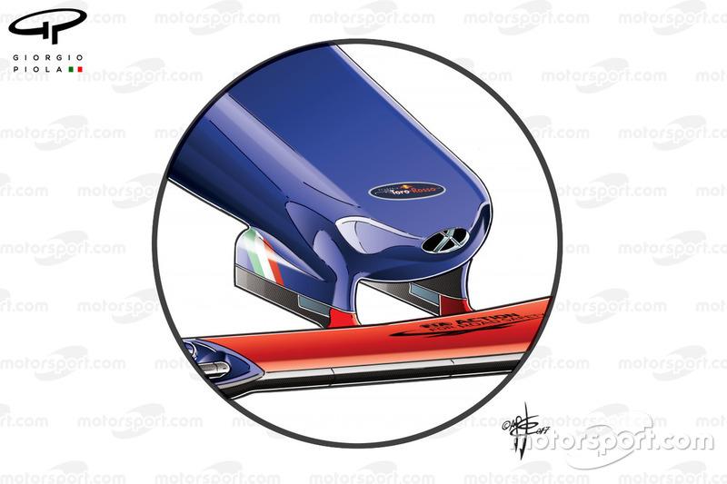 """الأنف القديم لسيارة تورو روسو """"اس.تي.آر12"""""""