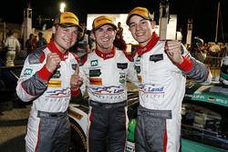 GTD winners Connor de Phillippi, Christopher Mies, Sheldon van der Linde, Land-Motorsport