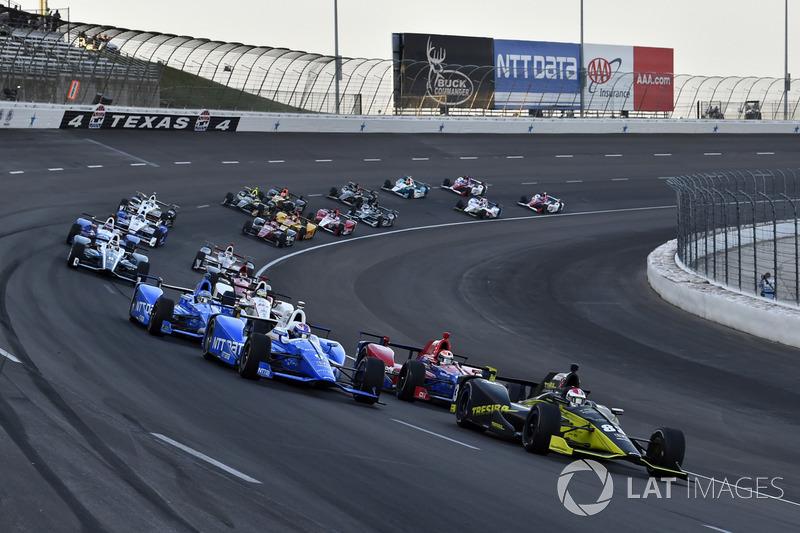 Charlie Kimball, Chip Ganassi Racing Honda, Scott Dixon, Chip Ganassi Racing Honda