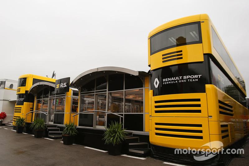 Моторхоум Renault Sport F1