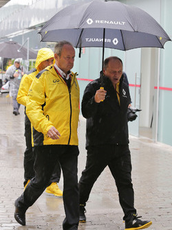 Jerome Stoll, Renault Sport F1 con Frederic Vasseur, Renault Sport F1 Team