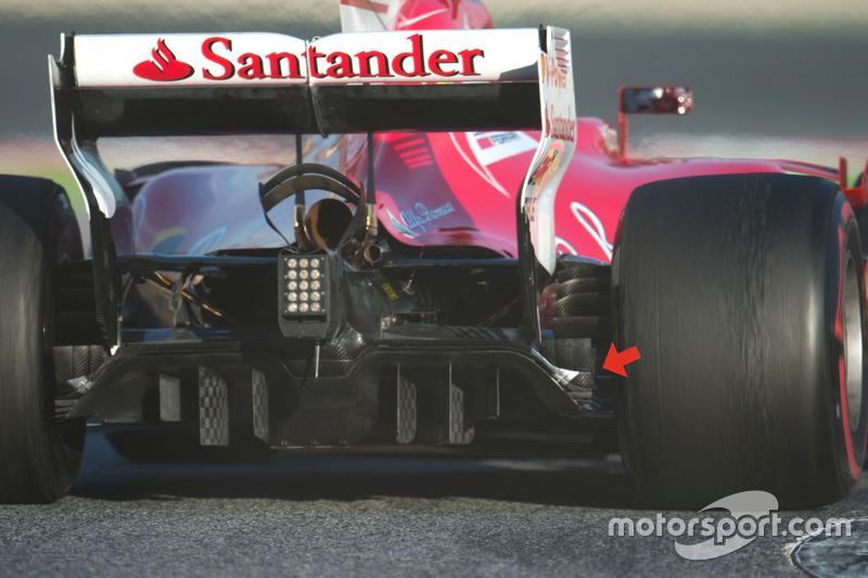 Ferrari SF70H difüzör
