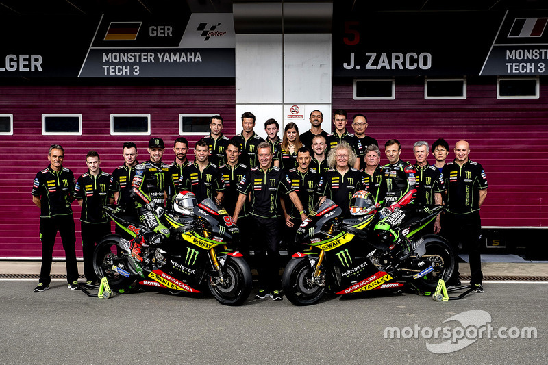Teamfoto; Jonas Folger, Monster Yamaha Tech 3; Johann Zarco, Monster Yamaha Tech 3