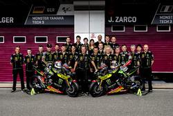 Jonas Folger, Monster Yamaha Tech 3; Johann Zarco, Monster Yamaha Tech 3, teamfoto