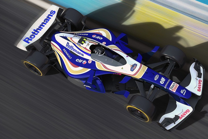Designstudie: Williams 2025