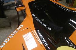 L'Arrows A21, châssis 06 de Jos Verstappen