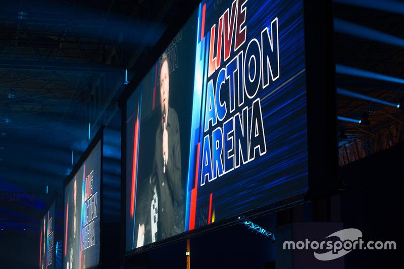 David Croft en la Live Action Arena