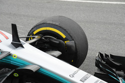Mercedes AMG F1 W08, front suspension