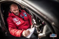 Stephane Le Bail disegnatore e tracciatore della gara