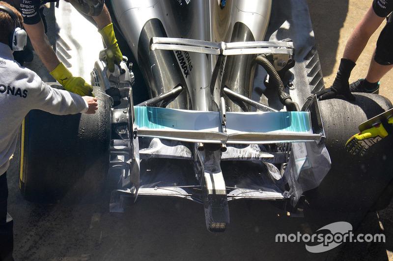 Mercedes AMG F1 W08: Heck