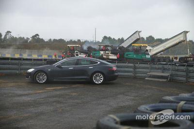 Les travaux sur le Circuit Bugatti