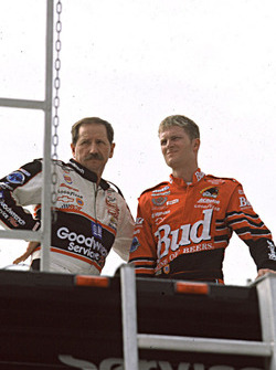 Dale Earnhardt and Dale Earnhardt Jr.