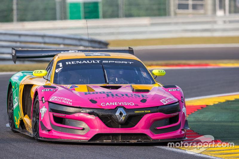 #1 Oregon Team, Renault RS01: Dario Capitanio, Davide Roda