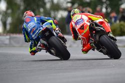 Maverick Viñales, Team Suzuki MotoGP, Andrea Iannone, Ducati Team