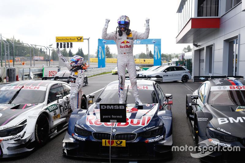 Il vincitore della gara Marco Wittmann, BMW Team RMG, BMW M4 DTM