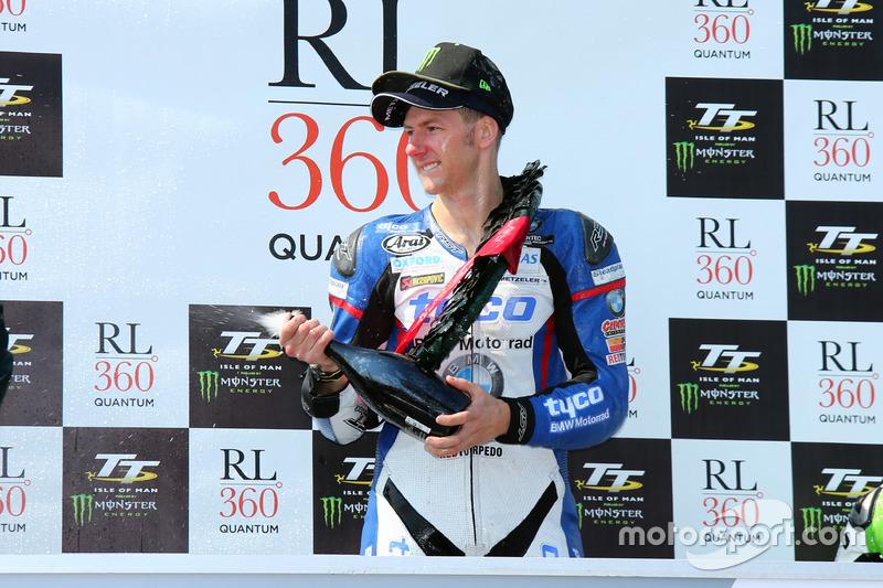Winner Ian Hutchinson, Tyco BMW, BMW