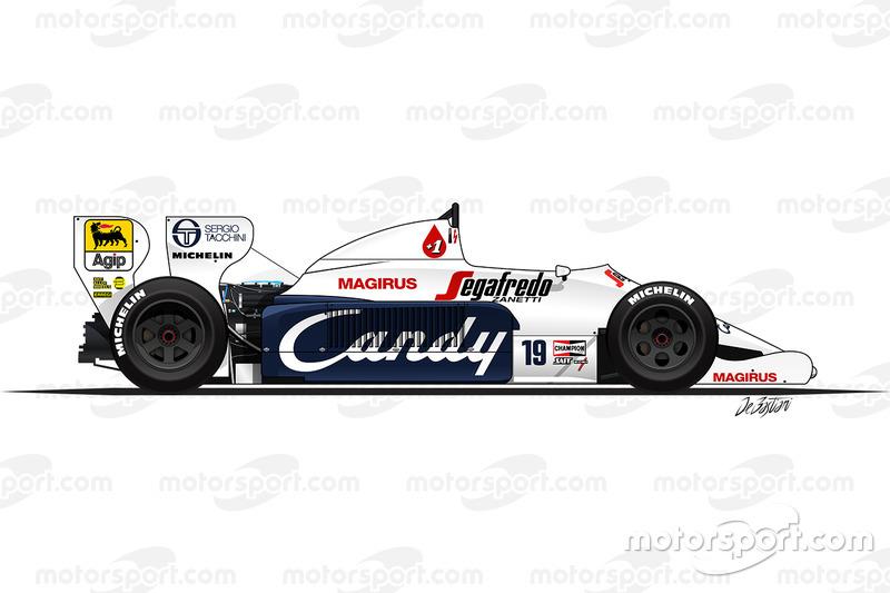 1984: Toleman-Hart TG184