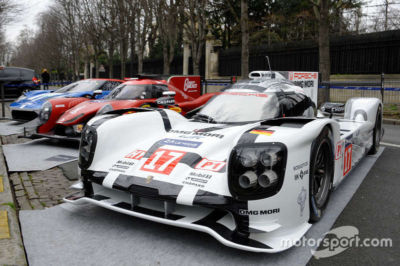 Porsche  Hybrid Rgr Sport By Morand Lmp Ford Gt In The Streets Of