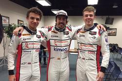 Lando Norris, Fernando Alonso, Phil Hanson, United Autosports