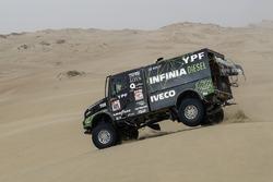 #501 Team De Rooy Iveco: Федеріко Вільягра, Рікардо Торлаші, Адріан Якопіні