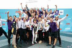 Sam Bird, DS Virgin Racing, wins the Rome ePrix