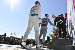 #14 3GT Racing Lexus RCF GT3, GTD: Dominik Baumann, Kyle Marcelli, #33 Riley Motorsports Mercedes AMG GT3, GTD: Jeroen Bleekemolen, Ben Keating