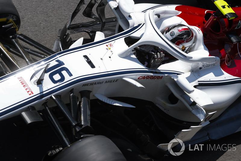 Charles Leclerc - Sauber: 10