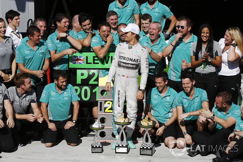 Ganador del GP de Brasil 2014: Nico Rosberg, Mercedes AMG F1