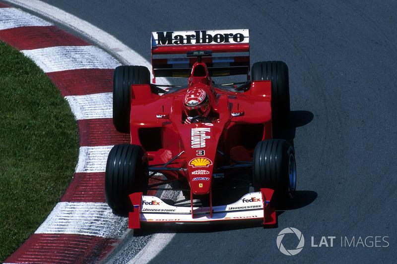 2000: Михаэль Шумахер, Ferrari F1-2000