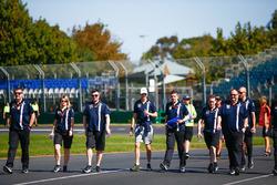 Le trackwalk avec Esteban Ocon, Force India
