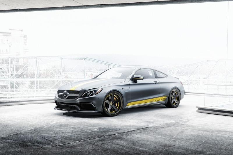 Autó Kissé megváltozott a Mercedes-AMG C63 Edition 1