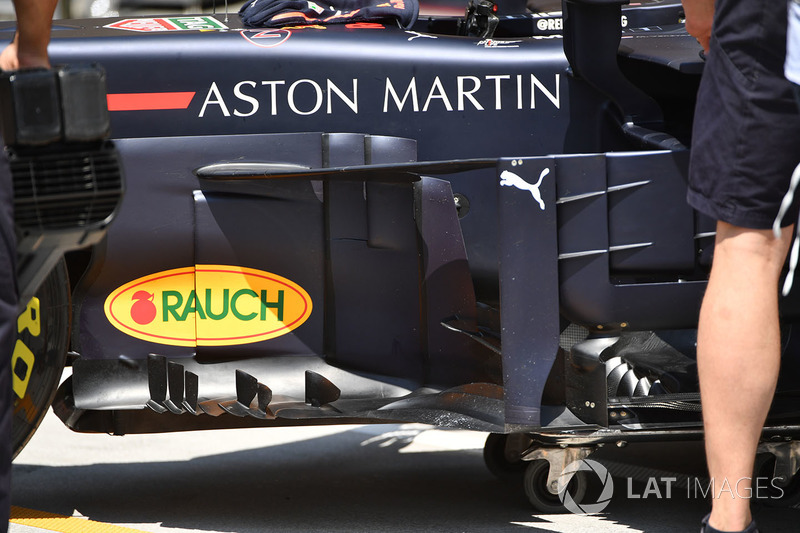 Bargeboards del Red Bull Racing RB14