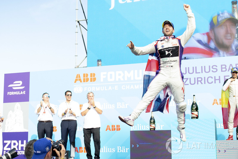 Sam Bird, DS Virgin Racing, finishes second